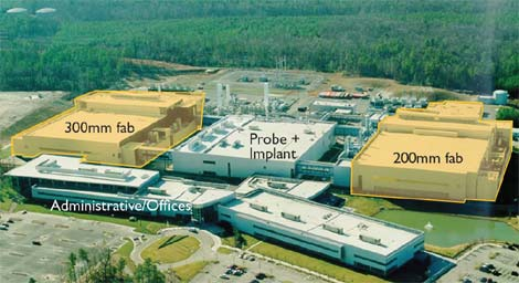 QTS is buying this former semiconductor plant near Richmond, Va. for conversion to data center use (Photo: Henrico County).