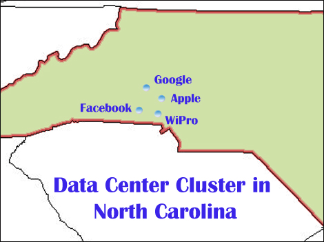 Data Center Cluster in NC