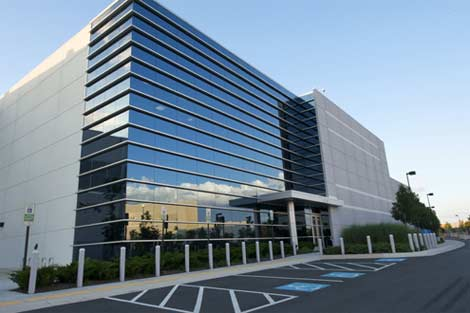 The ACC5 data center, one of the northern Virginia properties operated by DuPont Fabros Technology.