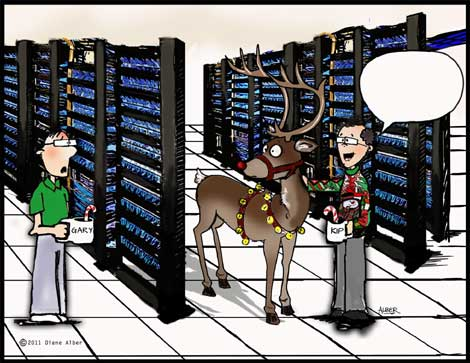 Reindeer in the data center