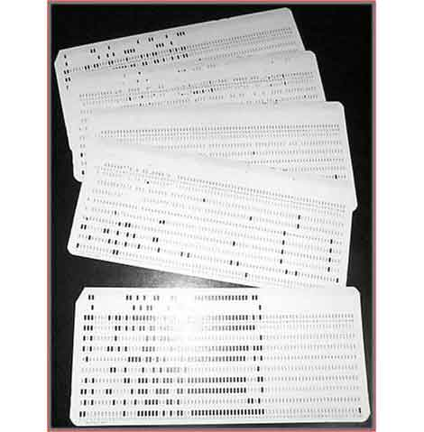 Punch-cards