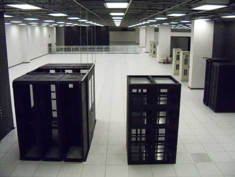 The CyrusOne data center in Carrollton, Texas.