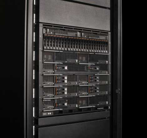 New IBM Flex System products allow clients to build larger clouds with smaller data centers. (Photo: IBM)