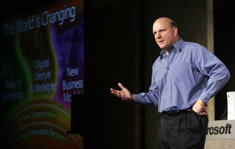 The retirement of CEO Steve Ballmer places Microsoft at a crossroads. (Photo: Microsoft)