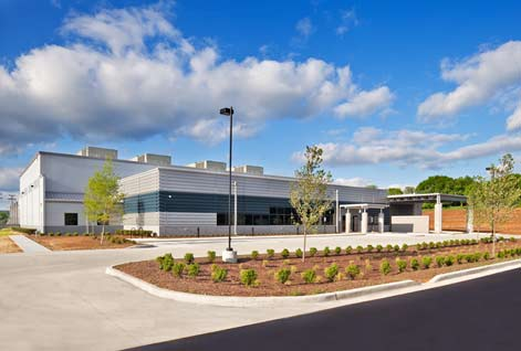 A look at a data center designed and built by Compass Datacenters, which will build a new Massachusetts facility for  Iron Mountain.