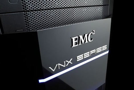 EMC today introduced new products for its VNX series of midrange storage. (Photo: EMC)