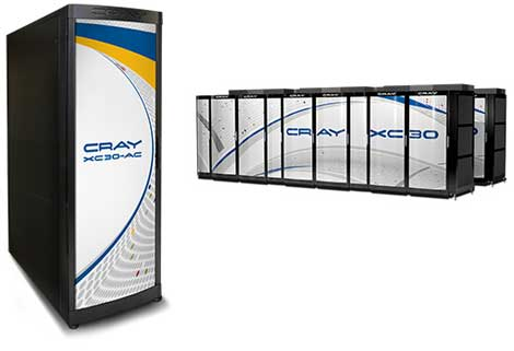 The Cray XC-30 supercomputer (Photo: Cray)