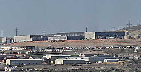 The NSA data center in Bluffdale, Utah. (Photo by swilsonmc via Wikipedia)