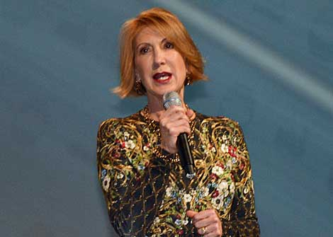 Carly Fiorina, former chairman and CEO of HP