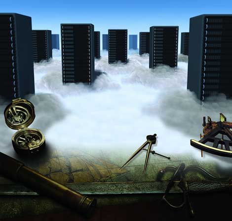 As the cloud landscape evolves, new skills are required to navigate. (Illustration: Dreamstime, Jeff Gunderman)