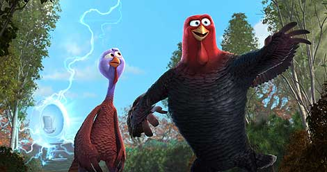 Thanksgiving-themed film, Free Birds, benefited from the computing power of Dell.