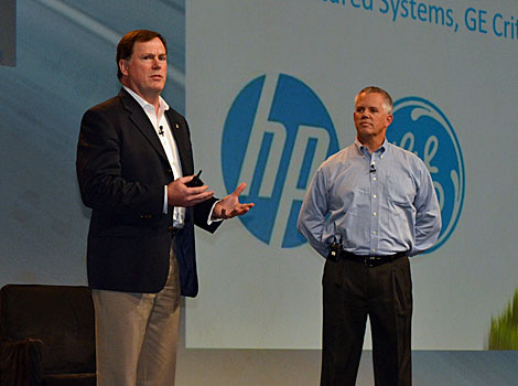 Jake Ring, GE Critical Power, and David Rotheroe, Distinguished Technologist and Strategist, HP, present about the benefits of fully modular data centers at the 7X24 Exchange Conference.