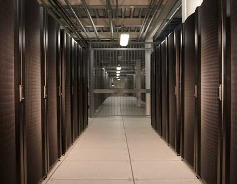The equipment area inside the Datacenter.BZ facility in Columbus, Ohio, which has been acquired by Cologix. (Photo: Datacenter.BZ)