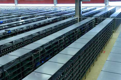 Massive Bitcoin Mines Spring Up in Warehouses | Data Center Knowledge