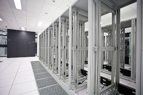 Inside a CenturyLink data center. (Photo: CenturyLink)