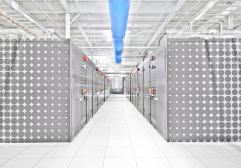 One of the two future companies will retain the name IO and will continue providing colocation space in modules and on traditional raised floor. (Photo: IO)