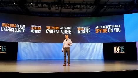 Chris Young, senior VP and general manager of the Intel Security Group (Photo: Yevgeniy Sverdlik)