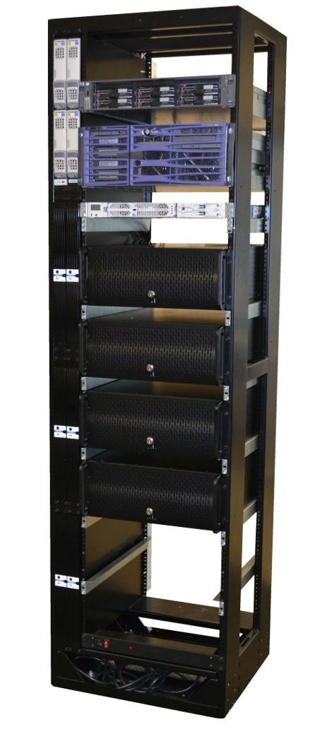 GE Edge Rack vertical PDU closeup