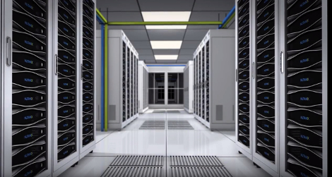 Rendering of a data center filled with Nutanix appliances (Source: Nutanix video)