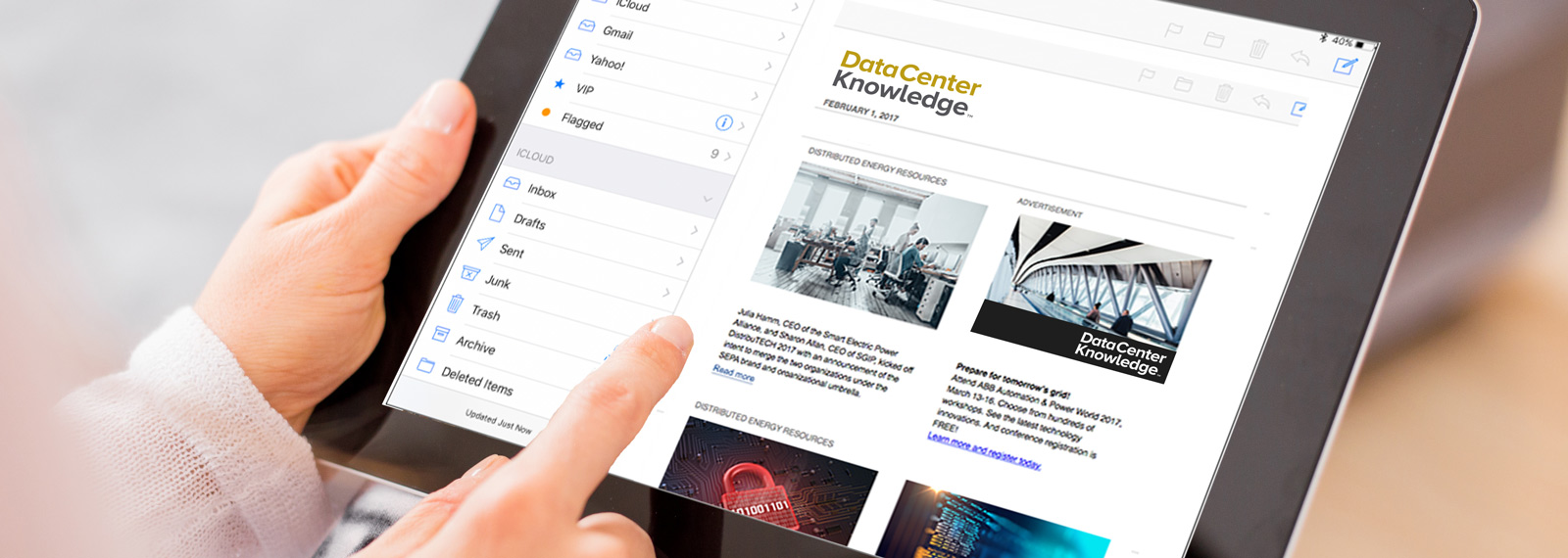 subscribe to newsletters data center knowledge