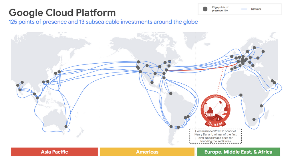 Google is building its second private subsea cable