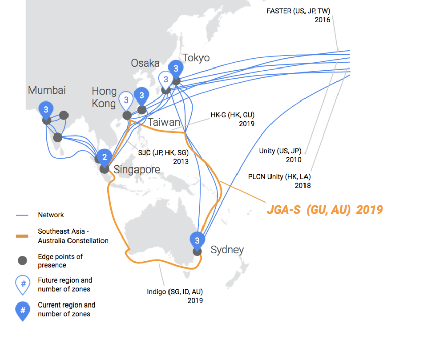 New Google-Backed Submarine Cable to Link Japan, Guam