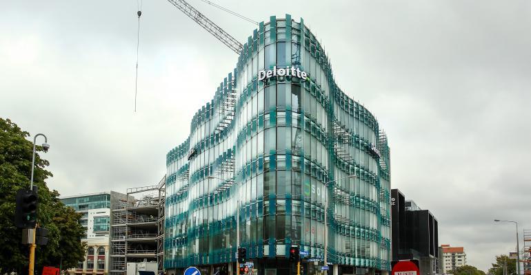 Deloitte building in Christchurch, New Zealand, 2015