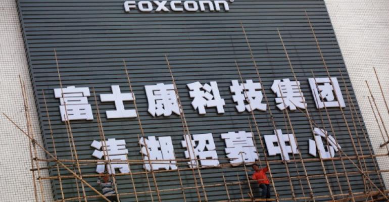 A Foxconn building in Shenzhen, China, in 2010