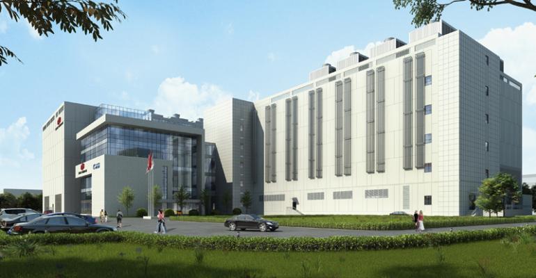 GDS new shanghai campus rendering 2017