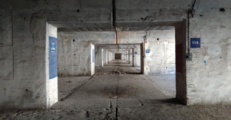 Inside the bunker, June 2017