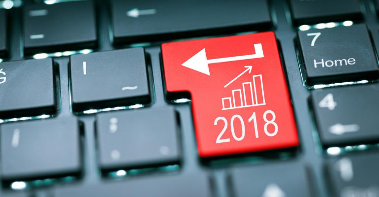 Investment 2018 stock image