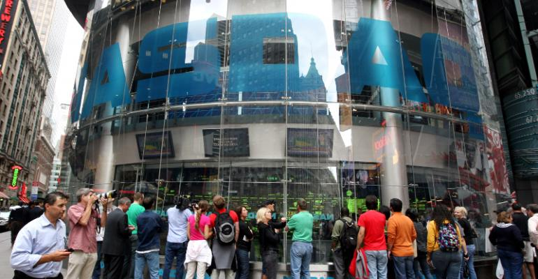 Nasdaq building in Times Square