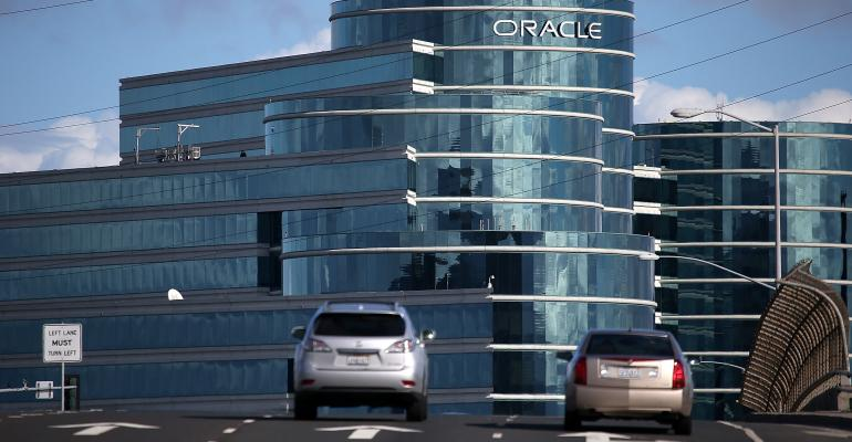 Oracle campus in Redwood City, California