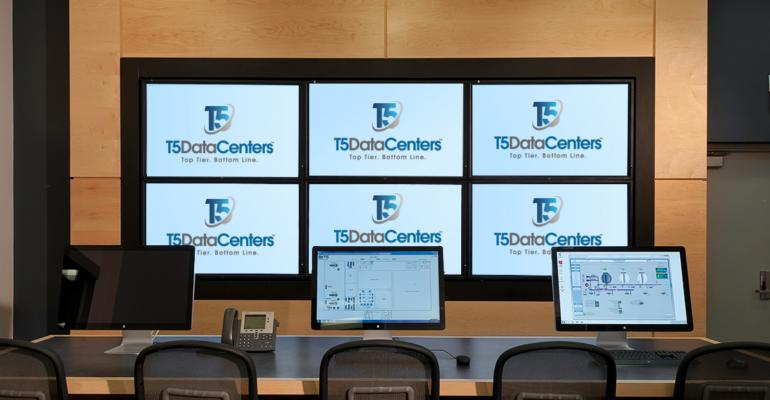 T5 Data Centers control room