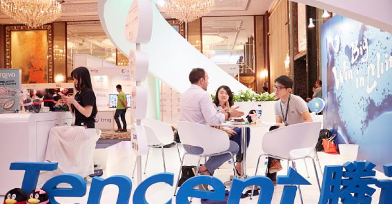 Tencent booth