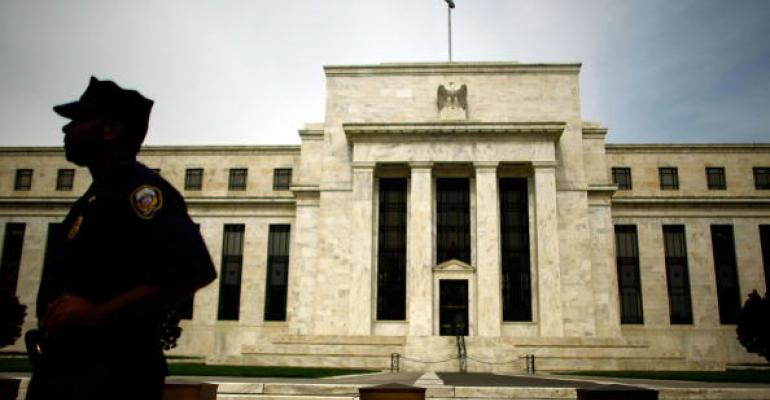 The US Federal Reserve building seen in 2008