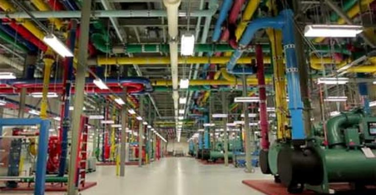 Google data center cooling plant