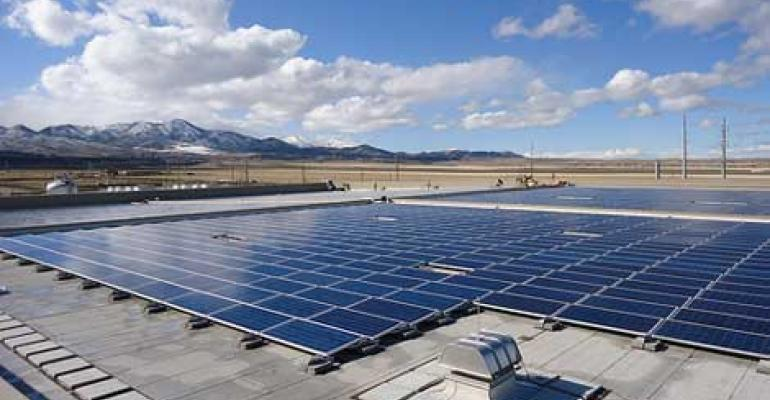 Closer Look: eBay's Solar Array at its Utah Data Center