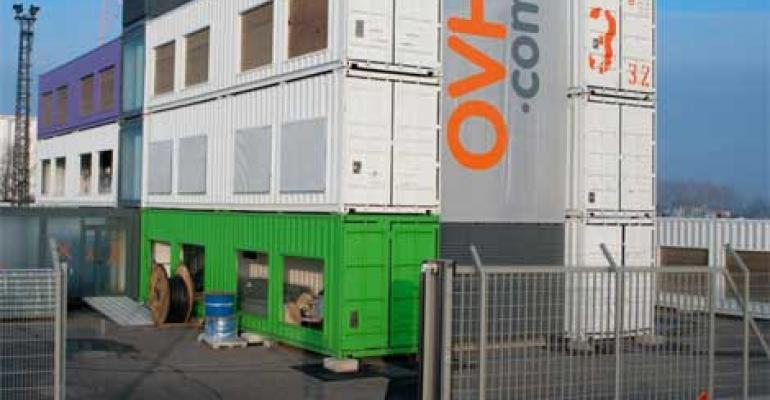 "OVH Deploys ""Container Cube"" Data Center"