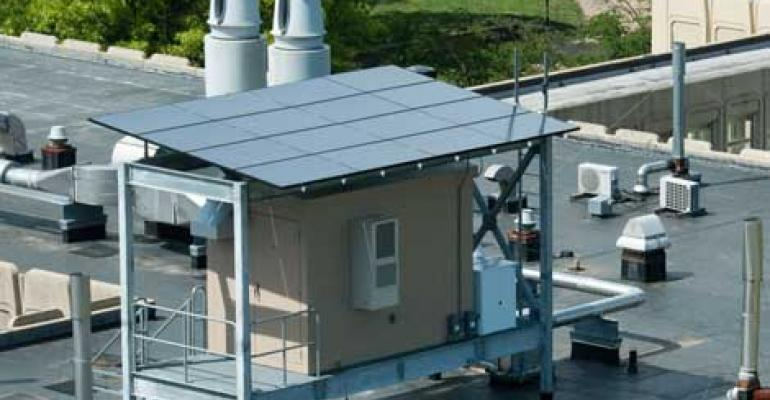 Solar-Powered Micro Data Center at Rutgers
