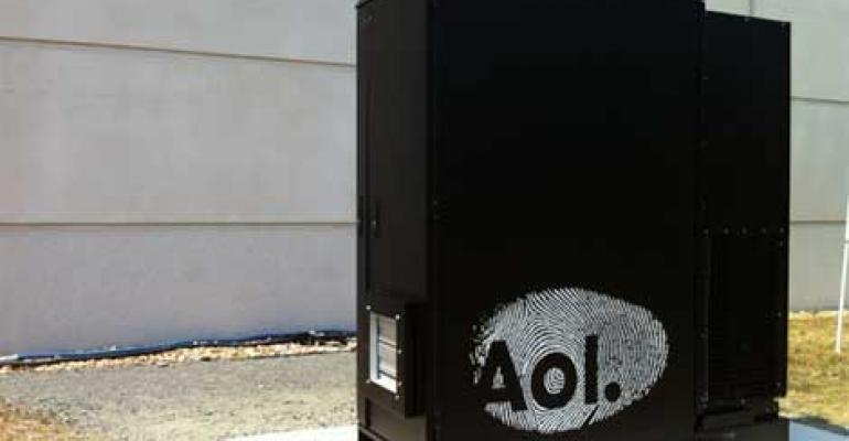 AOL's Outdoor Micro Data Centers Weather Sandy