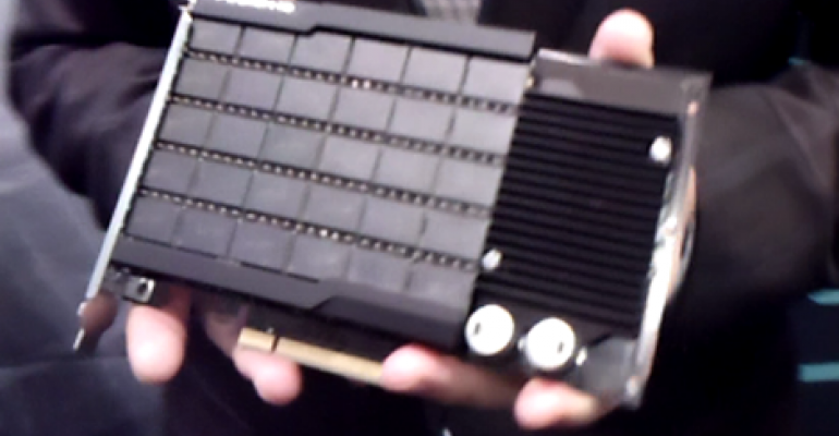 Flash Memory at Scale: Fusion-io Goes Large