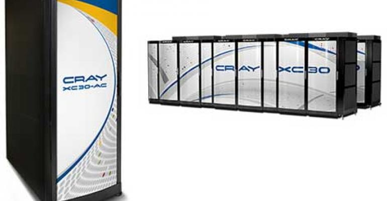 Cray Deploys Liquid-Cooled CS300 Supercomputer