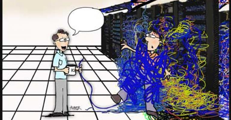 Friday Funny: Pick the Winning Caption for Our Spaghetti Cabling Cartoon