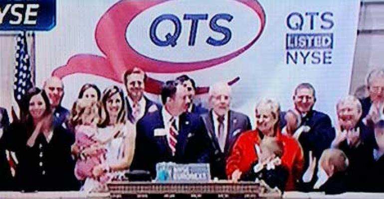 QTS Reports Positive First Year as Public REIT