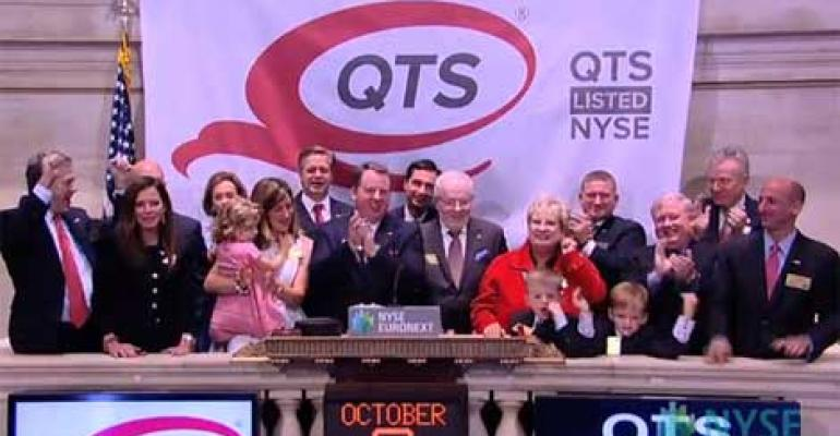 QTS Realty Commences IPO at $21 A Share