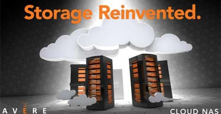 Avere Systems Launches Cloud NAS Storage