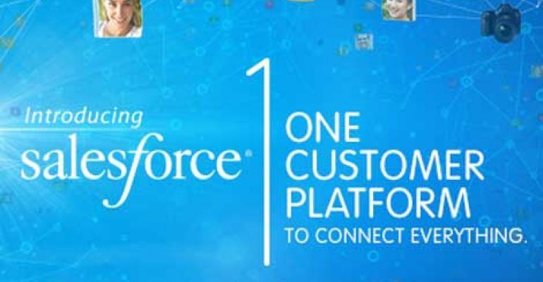 Salesforce.com Introduces Salesforce1 Platform