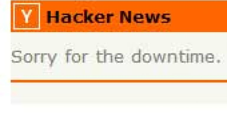 Lengthy Outages for Hacker News, FastHosts