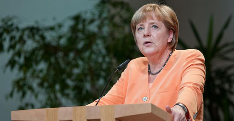 Germany's Merkel Calls for Separate European Internet